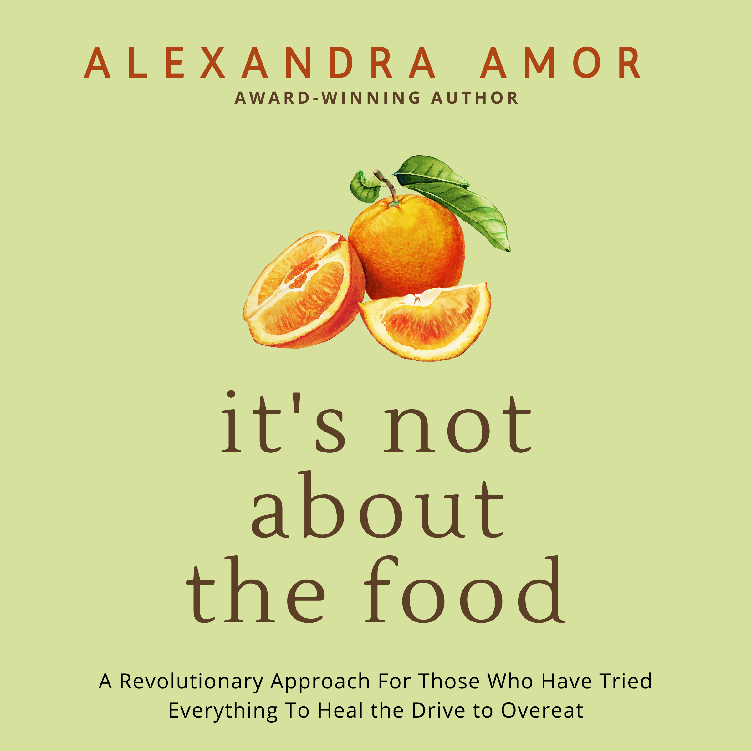 It's not about the food audiobook