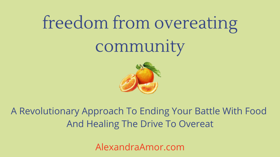 Freedom From Overeating Community