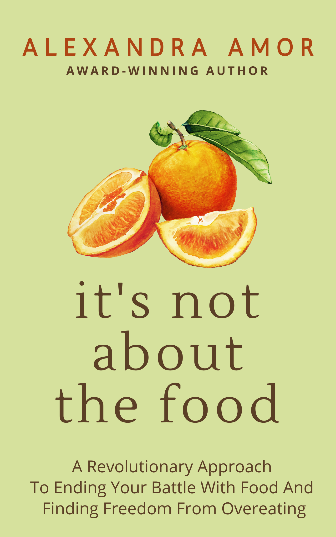 It's not about the food by Alexandra Amor